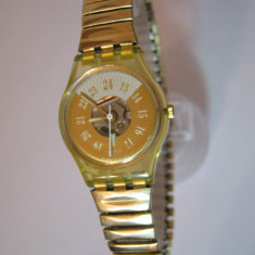 Ceas Swatch dama - pret vanzare 180 lei (Original) - Ceas dama Swatch, Casual, Quartz, Inox, Analog