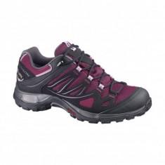 Pantofi Salomon Ellipse GTX pentru femei (SAL-366814-BOR) - Adidasi dama Salomon, Culoare: Rosu, Marime: 38, 39, 40, 41, 42