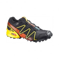Pantofi de alergare montana Salomon Speedcross 3 GTX (SAL-366741-BLC) - Adidasi barbati Salomon, Marime: 42, Culoare: Negru