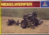 + Macheta 1/35 Italeri 324 - Nebelwerfer (in cutie tamiya  89715) +