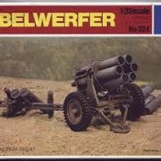 + Macheta 1/35 Italeri 324 - Nebelwerfer (in cutie tamiya 89715) + - Macheta auto
