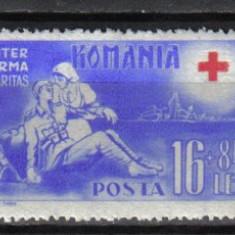 RRR CRUCEA ROSIE LP. 151 MNH LUX - Timbre Romania, Nestampilat