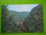 HOPCT  16602  MANASTIREA TISMANA    -JUD GORJ  [NECIRCULATA], Printata