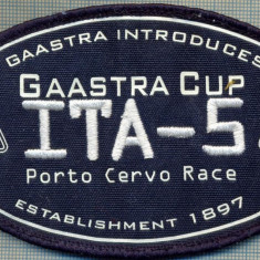 199 -EMBLEMA - ITA-5 -INTRECERE DE YACHTING - GAASTRA CUP -starea care se vede