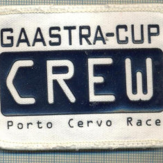 204 -EMBLEMA - CREW -INTRECERE DE YACHTING - GAASTRA CUP -starea care se vede
