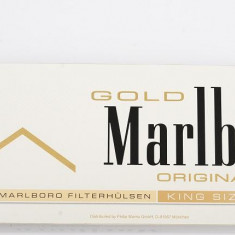 Tuburi tigari MARLBORO GOLD 200 TUBURI CU FILTRU MARO PERFORAT - Foite tigari