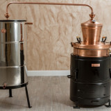 Cazan Tuica 100 Litri Basculant, Cupru Pur, Instalatie Completa, Promotie