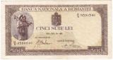 Bancnota 500 lei 1940 filigran vertical (2)