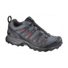 Pantofi de alergare montana Salomon X Ultra GTX Grey (SAL-309083-BLK) - Adidasi barbati Salomon, Marime: 42, 43, 44, 45, 46, 47, 48, Culoare: Gri
