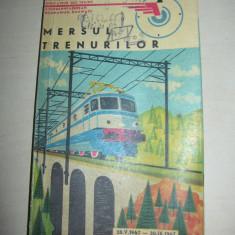 MERSUL TRENURILOR 1967