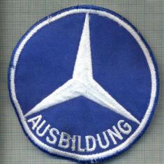 253 -EMBLEMA AUTOMOBILISTICA -AUSBILDUNG -MERCEDES -GERMANIA-starea care se vede