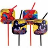 Paie de baut flexibile Spiderman Party (Omul Paianjen)