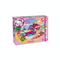 Set constructie Unico Plus Hello Kitty La piscina - Jocuri Seturi constructie
