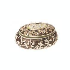 Cutie de bijuterii ovala - 602036 - Cutie Bijuterii