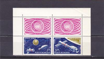 Romania Zbor comun viniete sus ,nr lista 888. foto