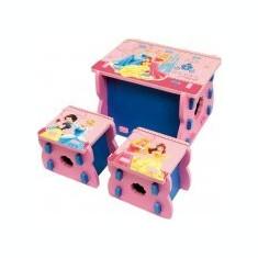 Set masa si 2 scaunele spuma Princess - Set gradina