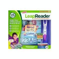 NOU! Sistem de citire si scriere LeapReader - roz - Incuietoare interior - exterior