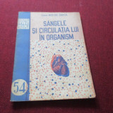 *** NISTOR SANTA - SANGELE SI CIRCULATIA LUI IN ORGANISM 1952