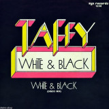 "Taffy - White & Black (1986, ZYX) Disc vinil single 7"" Italo-Disco"