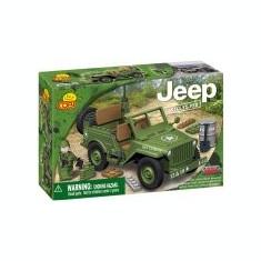 Cobi - JEEP Willys MB green - Jocuri Seturi constructie