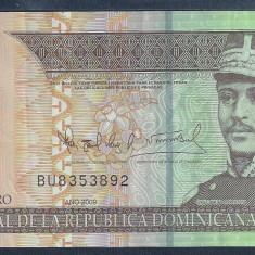 REPUBLICA DOMINICANA 20 PESOS DOMINICANOS 2009 [1] P-182, polimer, VF+ - bancnota america