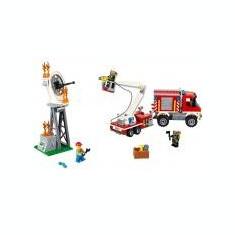Camion utilitar de pompieri - LEGO City