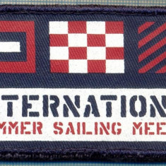 245 -EMBLEMA YACHTING - INTERNATIONAL SUMMER SAILING MEETING-starea care se vede