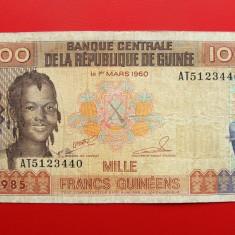 GUINEEA - 1.000 Francs 1985 - bancnota africa