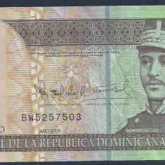 REPUBLICA DOMINICANA 20 PESOS DOMINICANOS 2009 [4] P-182, polimer, VF+ - bancnota america