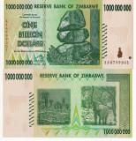 ZIMBABWE 1.000.000.000 dollars 2008 UNC!!!
