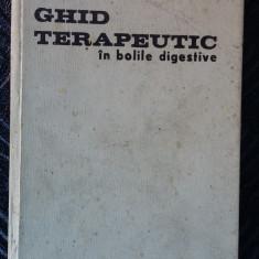 GHID TERAPEUTIC IN BOLI DIGESTIVE - Carte Gastroenterologie