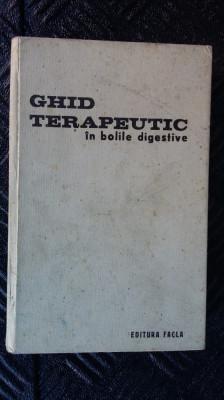 GHID TERAPEUTIC IN BOLI DIGESTIVE foto