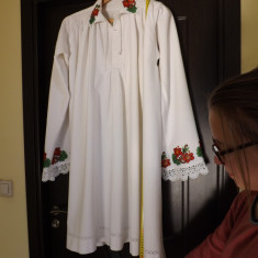 Camasa taraneasca de sarbatoare, ptr.barbati, din zona Bistrita.Rereducere! - Costum populare