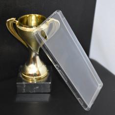 Husa noua SONY XPERIA M4 AQUA UltraSlim Silicon TRANSPARENTA protectie - Husa Telefon
