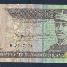 REPUBLICA DOMINICANA 20 PESOS DOMINICANOS 2009 [7] P-182, polimer - bancnota america