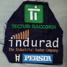 256 -EMBLEMA - INDURAL - THE INDUSTRIAL RADAR COMPANY -starea care se vede
