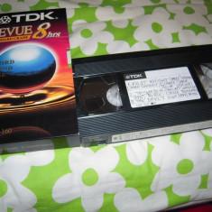 Caseta video VHS TDK T-160TVBH