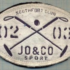270 -EMBLEMA - SOUTHFOR7 JO&CO SPORT -starea care se vede