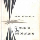 Carte 099 - BANU RADULESCU - Dincolo de asteptare - rara - nuvele - 1967 - Roman