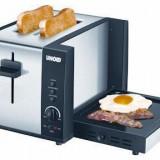 Snack master Unold 38905 (prajitor paine si plita) - Prajitor de paine, 2 felii, 950 W
