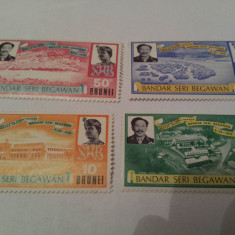 Brunei 1972 serie mnh / bandar seri - Timbre straine, Nestampilat