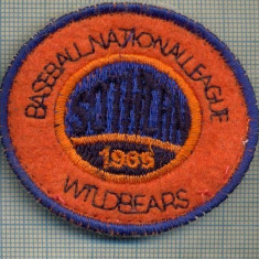 275 -EMBLEMA - BASEBALL NATIONAL LEAGUE WILDBEARS -starea care se vede