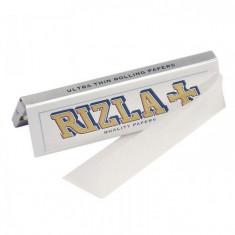 Foite RIZLA SILVER pentru rulat tutun sau tigari-FOITE TRANSPARENTE - Foite tigari