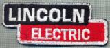 286 -EMBLEMA - LINCOLN ELECTRIC -APARATURA REPARATII AUTO -starea care se vede
