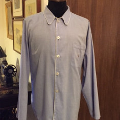 Camasa pijama POLO by Ralph Lauren - Pijamale barbati Ralph Lauren, Marime: XL/XXL, Culoare: Bleu