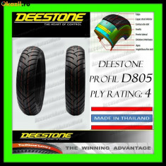 CAUCIUC 130/60-13 130x60x13 ANVELOPA 130-60-13 DEESTONE D805 THAILAND Scuter - Anvelope scutere