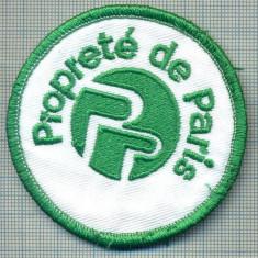 273 -EMBLEMA - PROPRETE DE PARIS -SOCIETATE DE SALUBRIZARE -starea care se vede