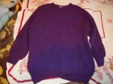 Pulover de dama mov, lana, marimea 46