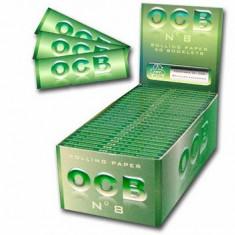Foite OCB ( VERDE ) pentru rulat tutun sau tigari - Foite tigari