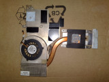 Cooler ventilator + radiatoare procesor placa video  + suruburi MSI M670 MS-1632